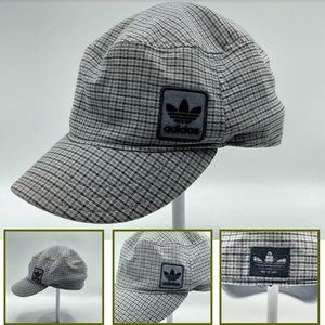 Adidas Women Plaid Army Cap Military Style Fitted